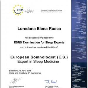 loredana certificat
